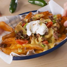 It's not junk food if you make it yourself. #food #easyrecipe #copycat #tacobell #nachos