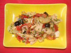 """Das perfekte Salat : -Kartoffelsalat-Gemüse- Thunfischsalat,,Bonito de Norte""""-Rezept mit einfacher Schritt-für-Schritt-Anleitung: Zutatenvorbereitung:…"""