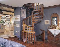 Idee per decorare scale Shabby Chic n.07