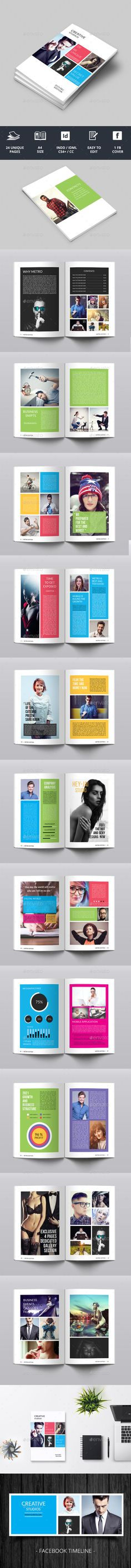 Metro Style Newsletter - Newsletters Print Templates Download here : https://graphicriver.net/item/metro-style-newsletter/15788299?s_rank=107&ref=Al-fatih