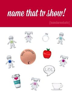 Name That TV Show (Answer: Friends) www.brandieyost.origamiowl.com