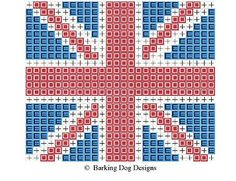 Crafting with dogs: Union Jack Pincushion