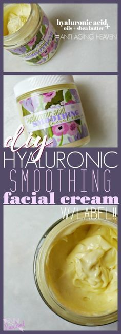 Hyaluronic Acid Facial Cream DIY