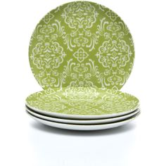 Rachael Ray Dinnerware Curly-Q Salad Plate (Set of 4) found on Polyvore