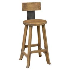 Set this rustic stool around your pub table for enjoying cocktails with friends, or pull it up to the kitchen island for leisurely Sunday brunches.