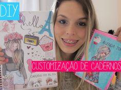 DIY: Customização de Cadernos - Faça você mesma