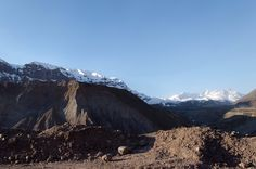 Embalse el Yeso en el Cajón del Maipo. #Mountain