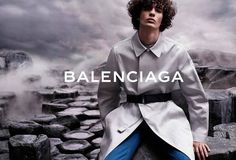 Piero Mendez Stuns in New Images from Balenciaga Spring 2015 Mens Ad Campaign Balenciaga First, Balenciaga Spring, Balenciaga Mens, Mens Style Guide, Men Style Tips, Summer Campaign, Fashion Tape, Latest Mens Fashion, Men Fashion
