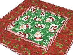 Handmade Quilts & Home Decor, Fabric & Notions by CuddleCatQuiltworks Christmas Sewing, Handmade Christmas, Christmas Crafts, Christmas Decorations, Christmas Quilting, Christmas Blocks, Holiday Decor, Christmas Ideas, Table Runner And Placemats
