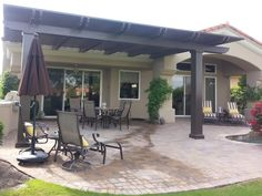 Solid Patio Cover, Palm Springs, CA