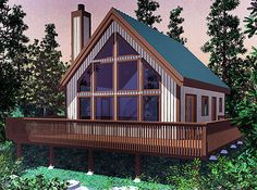 800 sq ft cottage with wrap around porch