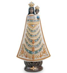 Lladro 17517 Our Lady of Loreto / Saint Patron of the Air Force http://lladro.stores.yahoo.net/1ourlaoflosa.html
