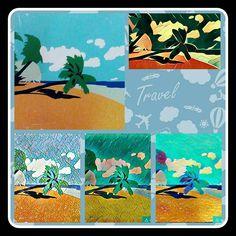 Urlaub Sonne Meer Palmen und Strand. Holidays sun sea palms and beach. Go to spain. Yes yes and yes. Links im grossen das Originalbild aus meinem Keller. Erst #prisma und dann #picsart #madewithprisma #madewithpicsart #instapic #instapicture #instaphoto #beach #sea #sun #meer #strand #sonne #spanien #spain #streetart #artoftheday #art #artwork #workart #urlaub #holidays #bunny #palms #palmes #hangout