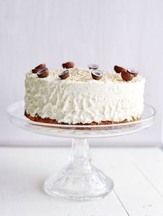 Världens bästa tårta – cheesecake med frisk lime på kokosbotten, en lyxig och supergod efterrätt som går att förbereda!
