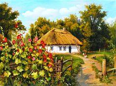 Колісний Г. Сільська хатина. . 2011