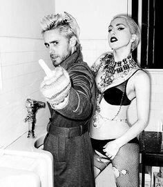 Lady Gaga & Jared Leto