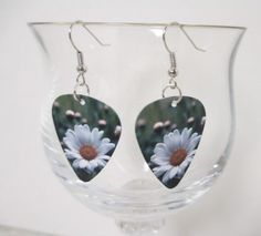 A personal favorite from my Etsy shop https://www.etsy.com/listing/254772609/daisy-guitar-pick-earrings-dangle-charms
