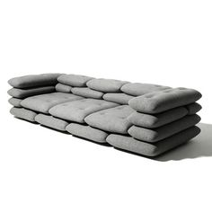 Brick Sofa by KiBiSi on TouchofModern {for your modern foxhole