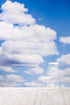 Wallpaper by ellos Blå Fototapet Cloude