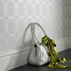 Entrance wall paper!
