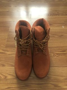 410f24258 Timberland Limited Release MENS 6-Inch Premium Waterproof Boot - RUST Size  9.5  fashion