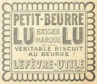 Petit Beurre Lu Biscuits, a speciality of Nantes!
