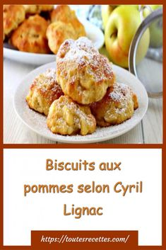 Biscuits aux pommes selon Cyril Lignac – Toutes Recettes Biscuits, Cake Factory, Beignets, French Food, Muffins, French Toast, Food And Drink, Gluten, Beef
