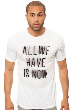 """""""All we have"""" tee"""
