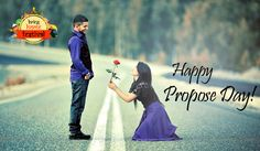 Happy Propose Day! Let your loved one know how much he or she means to you this #ProposeDay.