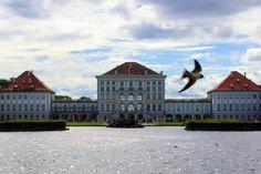 Nymphenburger Schloss in München. Ausflugstipp für Familien