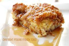 overnight praline french toast