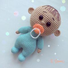 Beauty and Things (Вязаная игрушка, амигуруми) Pokemon Crochet Pattern, Pikachu Crochet, Crochet Dolls Free Patterns, Crochet Doll Pattern, Doll Patterns, Giraffe Crochet, Crochet Baby Toys, Crochet Bear, Baby Knitting