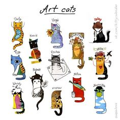 Gemma Correll art cats ღ♡♡ღ‿ღ