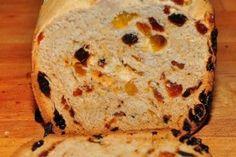 Pan de pasas con maíz
