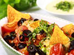 Zapékané nachos s krůtím masem / Baked nachos with turkey
