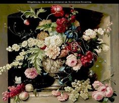 dutch still life flower paintings
