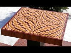 "Making a ""Wave"" 3D end grain cutting board - YouTube"