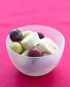 Frozen Fruit Salad...keep in freezer for kid snack