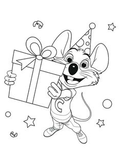 Chuck E Cheese Coloring Pages Pdf Printable Chuck E Cheese S Is A Chain Of American Family E Chuck E Cheese Coloring Pages To Print Paw Patrol Coloring Pages