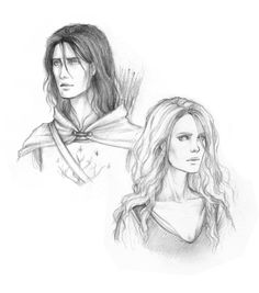 "Captain and Shieldmaiden by Achen089.deviantart.com on @deviantART - Faramir and Eowyn from ""Lord of the Rings"""