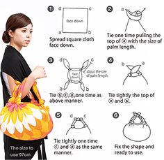 What is FUROSHIKI? Furoshiki is a square cloth traditionally used for wrapping a gift or transporting the objects. Furoshiki dated back to Nara period cent Furoshiki Bag, Furoshiki Wrapping, Wrapping Ideas, Gift Wrapping, Japanese Patterns, Japanese Fabric, Sewing Crafts, Sewing Projects, Diy Sac