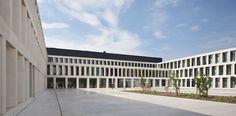 be baumschlager eberle, Osar architects — Hospital AZ Groeninge — Image 4 of 18 - Divisare by Europaconcorsi