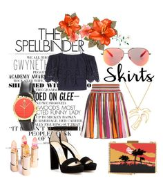 """""""Off Shoulder Blouse"""" by love-blair-serena ❤ liked on Polyvore featuring Gwyneth Shoes, Gucci, Ganni, Jimmy Choo, Hillier London, Missoni, Valentino, Victoria Beckham and Summer"""