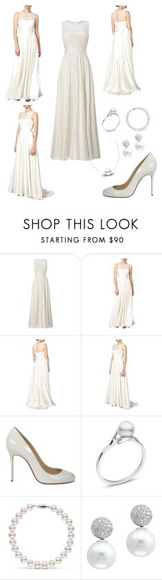 """Clarabella wedding"" by paulaj87 ❤ liked on Polyvore featuring Phase Eight, Christian Louboutin and Effy Jewelry"