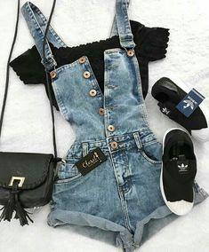 Siga Pinterest: @sarasiede, tudo o que deseja apenas lá !!! Fashion Outfits, Date Outfits, Cute Fashion, Casual Outfits, Womens Fashion, Dresses For Teens, Outfits For Teens, School Outfits, Summer Outfits