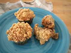 Banana Muffins with Streusel Topping Recipe on Yummly