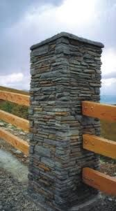 Image result for schist stone gate
