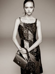 Prada Spring 2015 Campaign - Gemma Ward