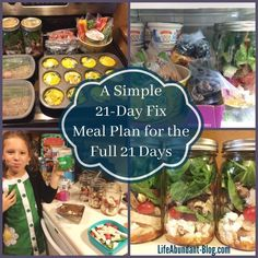 Here is a very simple meal plan for the 21-Day Fix, along with the truth of how I did...