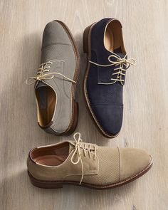 Save on the perf-ect suede summer lace-ups.